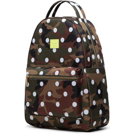 Herschel Nova Mid-Volume Backpack woodland camo white dot